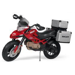 PEG PEREGO motocykl dla dzieci Ducati Enduro 12V - BEZPŁATNY ODBIÓR: WROCŁAW!