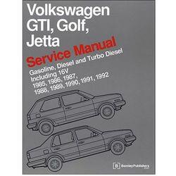 Volkswagen GTI, Golf, Jetta Service Manual 1985-1992 Now in Hardcover (opr. twarda)