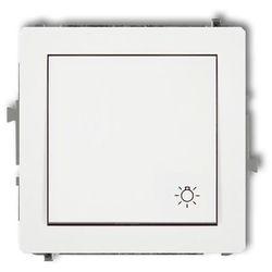 Wyłącznik zwierny światło DWP-5, biały KARLIK DECO
