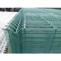 Przęsła i elementy ogrodzenia, Panel ogrodzeniowy zielony Fi4 1730x2500 mm
