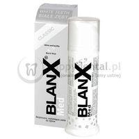 Pasty do zębów, BLANX Classic Białe Zęby 75ml - bezpieczna pasta wybielająco-ochronna na bazie naturalnych składników
