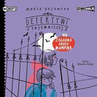 Literatura młodzieżowa, CD mp3 zagadka grobu wampira detektywi z tajemniczej 5 tom 2 (opr. miękka)