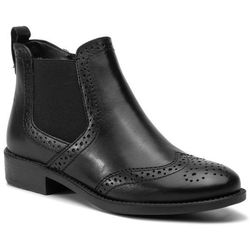Botki TAMARIS - 1-25993-23 Black Leather 003