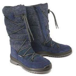 MANITU 991436-5 blau, śniegowce damskie