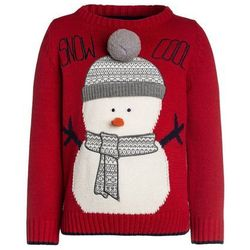 Outfit Kids SNOW COOL CHRISTMAS JUMPER Sweter red