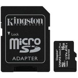 KINGSTON MicroSDHC 16GB 100MB/s SDCS2/16GB