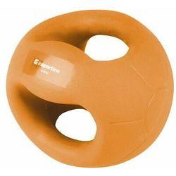 Piłka lekarska z uchwytami inSPORTline Grab Me 2 kg