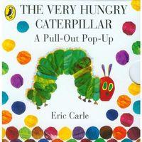 Książki do nauki języka, The Very Hungry Caterpillar: a Pull-out Pop-up (opr. kartonowa)