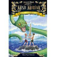 Książki dla dzieci, Lato z potworem morskim. Magiczny domek na drzewie. Misje Merlina. Tom 3 (opr. twarda)