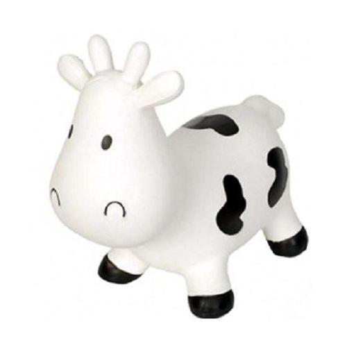 Pozostałe zabawki dla najmłodszych, Skoczek krówka Śnieżynka biała
