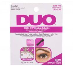 Ardell Duo Quick-Set™ Striplash Adhesive Dark Tone sztuczne rzęsy 5 g dla kobiet