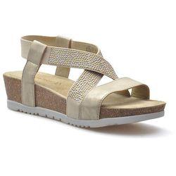 Sandały Marco Tozzi 2-28734-28 Platynowe