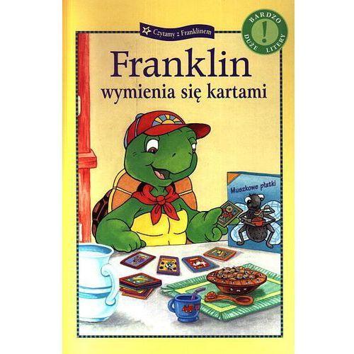 Książki dla dzieci, FRANKLIN WYMIENIA SIĘ KARTAMI (opr. broszurowa)