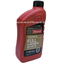 Full syntetyczny olej silnikowy Motorcraft 5W20 1L Ford