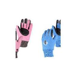 Rękawiczki jeździeckie dziecięce QHP