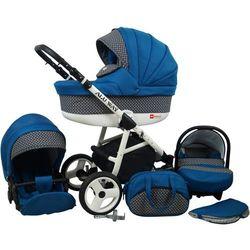 Sun Baby Wózek wielofunkcyjny Alu way 3w1, indygo - BEZPŁATNY ODBIÓR: WROCŁAW!