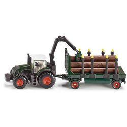 Zabawka SIKU Farmer Traktor Z Przyczepą Leśną