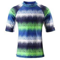 Bluzeczka kąpielowa UV50+ Reima Fiji niebieski/zielony/biały - 6645 -30REIMA (-30%)