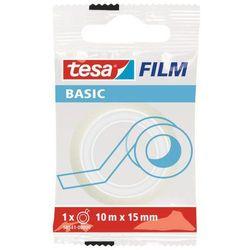 Taśma klejąca Tesa Film Basic 15mmx10m transparentna 58541