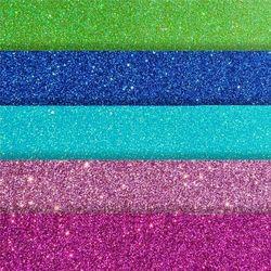 Papier kolorowy samoprzylepny brokatowy a4 mix kolorów