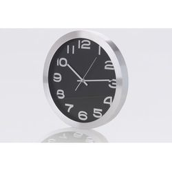 Zegar ścienny o35cm, easyprint, czarny / TG-68396 / TOYA GIFTS - ZYSKAJ RABAT 30 ZŁ