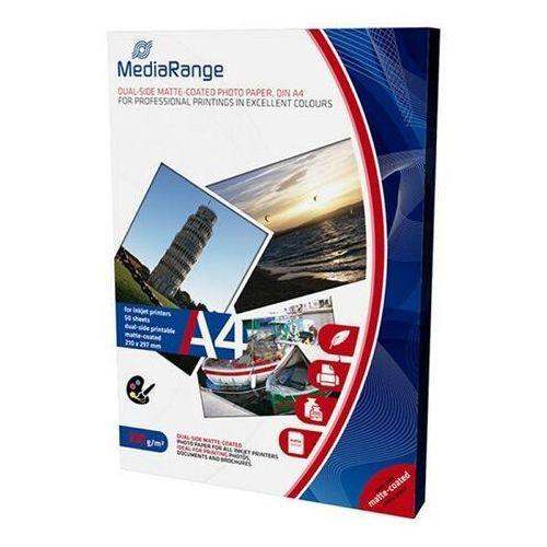 Papiery fotograficzne, Papier fotograficzny MEDIARANGE A4 200gsm matowy 50ark.
