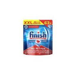 Finish tabletki do zmywarki All-in-one 60+3szt (worek)