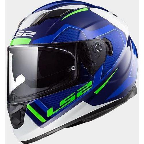 Kaski motocyklowe, KASK LS2 FF320 STREAM EVO AXIS BLUE WHITE