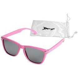 Okulary przeciwsłoneczne dzieci 4-10lat UV400 BANZ - Flyer Pink
