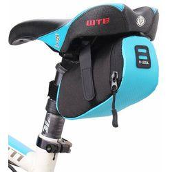 B-Soul torba rowerowa pod siodełko 0,6 L niebieski (YA202 blue) - Niebieski