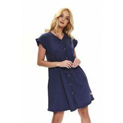 Koszula nocna ciążowa i do karmienia 100% bawełna organiczna TCB.9600 DN - COSMOS