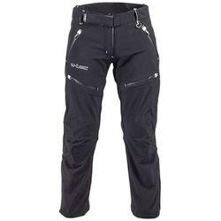 Damskie spodnie motocyklowe softshell W-TEC NF-2880, Czarny, S