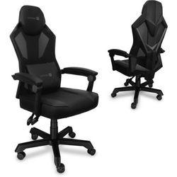 Connect IT fotel gamingowy Monte Carlo, czarny (CGC-2100-BK)