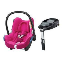 Fotelik samochodowy Cabrio Fix 0-13 kg + Baza Family Fix Maxi-Cosi (Frequency Pink)