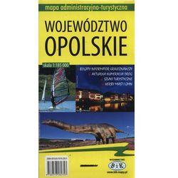 Województwo opolskie Mapa administracyjno-turystyczna 1:185 000