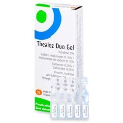 Krople do oczu Thealoz Duo Gel 30x 0,4g