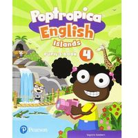 Książki do nauki języka, Poptropica English Islands 4. Pupils Book + Online World Access Code - książka