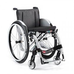 Wózek aktywny, lekki, krzyżakowy, składany z szybkozłączami Offcar Vega