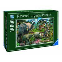 Puzzle, Puzzle RAVENSBURGER Przy wodopoju 178230 18000 elementów + DARMOWY TRANSPORT!