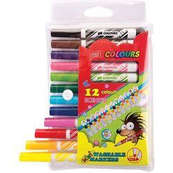 Pisaki zapachowe jumbo 12 kolorów EASY