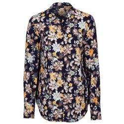 Bluzka w kwiaty bonprix ciemnoniebieski w kwiaty