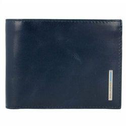 Piquadro Blue Square Etui na karty kredytowe skórzane 12,5 cm nachtblau ZAPISZ SIĘ DO NASZEGO NEWSLETTERA, A OTRZYMASZ VOUCHER Z 15% ZNIŻKĄ