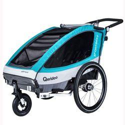 Qeridoo® Przyczepka rowerowa Sportrex2 Aquamarin