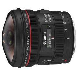 Canon EF 8-15 mm f/4 L Fisheye USM - produkt w magazynie - szybka wysyłka!