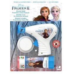 Pistolet do robienia baniek mydlanych Frozen 2