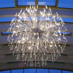 Brilliant Nash XXL lampa wisząca Chrom, 48-punktowe - Klasyczny - Obszar wewnętrzny - XXL - Czas dostawy: od 4-8 dni roboczych