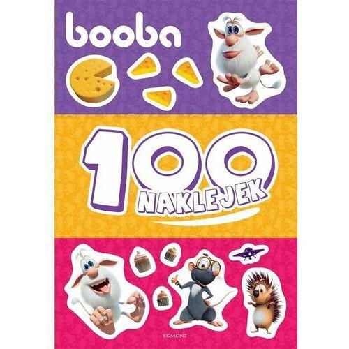 Książki dla dzieci, Booba. 100 naklejek (opr. miękka)