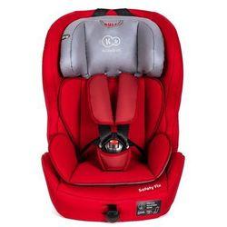 KinderKraft Fotelik samochodowy SAFETY-F Red z systemem ISOFIX