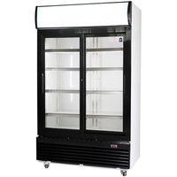 Szafy i witryny chłodnicze, Szafa chłodnicza przeszklona CEBEA SCh-LG-1200