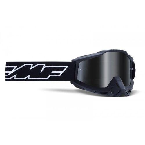 Gogle i okulary motocyklowe, Fmf gogle powerbomb rocket black szyba mirror silv